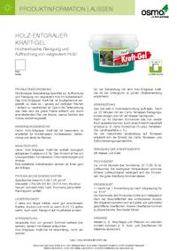 Produktinformationen Entgrauer Kraftgel